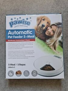Pawise automatic pet feeder. 5 meal. Brand new