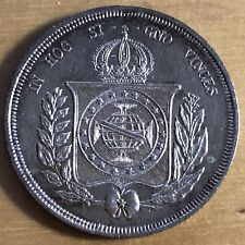 Brazil 1867 500 Reis; KM-464; AU (#b10)