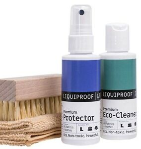 Liquiproof LABS Shoe Care Kit Premium Protector 50ml & Eco Cleaner 50ml & Brush