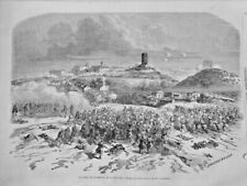 1859 I ITALIE PRISE SOLFERINO TOUR CANON SOLDATS