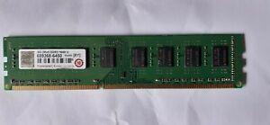 RAM TRANSCEND 8GB 2RX8 DDR3 1600 U pour unité central