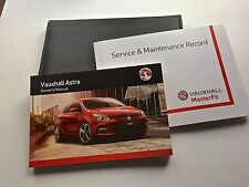 OPEL ASTRA J & GTC LIBRO DE MANTENIMIENTO MANUAL & Funda Pack - 2013 to 2016 New