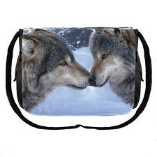 Gothic Western Wolf Wölfe Tasche Messenger Umhängetasche