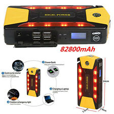 Portable Car Jump Starter Pack Booster Charger Battery &Power Bank 12V 82800mAh