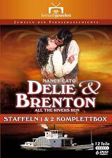 DELIE UND BRENTON - KOMPLETTBOX - Staffel 1 & 2 (12 Teile) - Fernsehjuwelen DVD