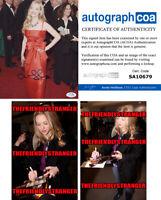 AMANDA SEYFRIED signed Autographed 8X10 PHOTO - PROOF GORGEOUS Means Girls ACOA