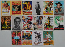 Gary Cooper lot of 16 postcards printed in 1990's