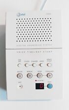 AT&T 1720 Digital Answering Machine/System in White with AC Adapter