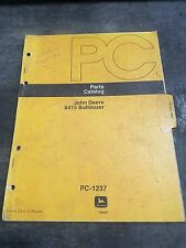 John Deere PC-1237 Bulldozer 6415 Parts Catalog Manual