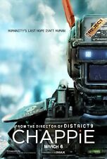 Chappie Poster Length :400 mm Height: 800 mm SKU: 11377
