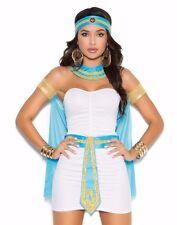 Egyptian Queen Costume Medium M Women Sexy Halloween Egypt Nile Goddess Dress