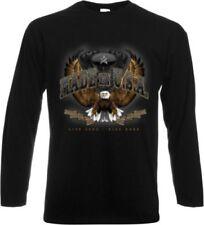 Harley Davidson Langarm Herren-T-Shirts in normaler Größe