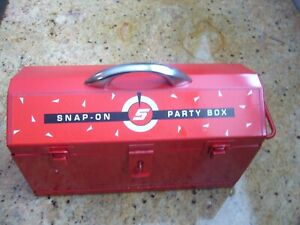 Vintage NOS  Snap-On Tools Party Box Poker Set, Cards, Dice, Pencil, & Pad NICE