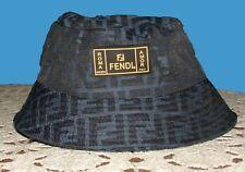 Navy Fendi Mens Bucket Hat