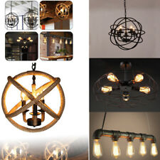4 styles Retro Edison Loft DIY Industrial Lamp Fixture Hanging Ceiling Light US