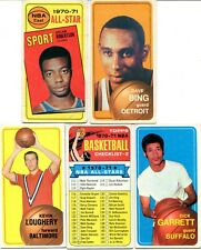 1970-71 TOPPS BASKETBALL LOT 11 DIFF W/HOF'ERS ROBERTSON A.S.DAVE BING VERY GOOD