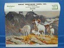 "1987 Remington Calendar ""Bringing Wildlife Back"""