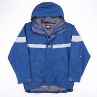Vintage HELLY HANSEN Blue Outdoor Nylon Jacket Mens Size Medium