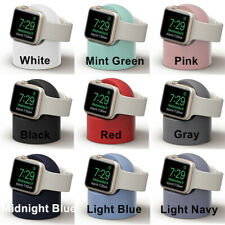 Silicone Charging Dock Stand Station Charger Holder  For Apple Watch Series 4321