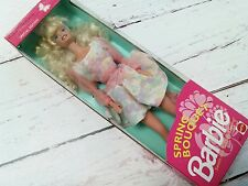 New Mattel 1992 Special Edition Spring Bouquet Barbie Doll