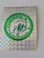 Retro Mining Sticker -  Chemfix The Native Australian - Kangaroo  1986
