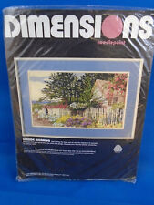 Dimensions Needlepoint Seaside Morning 2364 18x11 in Sealed