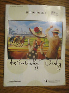 2008 KENTUCKY DERBY PROGRAM. SIGNED WINNING JOCKEY. KENT DESORMEAUX. BIG BROWN