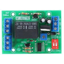 12V DC 10A 2 Channel Adjutable Delay Turn OFF Module Relay Timer Control Switch