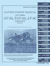 McDONNELL DOUGLAS AV-8A NATOPS FM & ROLLS-ROYCE PEGASUS BROCHURE
