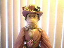 Rare Vintage Monkey Face Lady Katherine's Collection Doll w/ 18th Century Dress