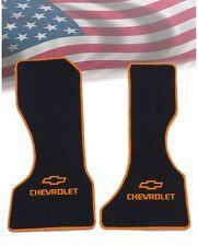 Chevrolet G10,G20,G30 Fußmatten Autoteppiche Orange