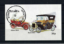 ISLE OF STAFFA 1972 VINTAGE CARS MINIATURE SHEET CTO