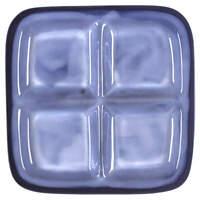 Sango Nova Blue 4 Part Relish Dish 3414735