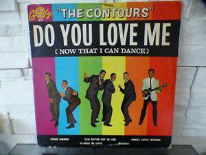 THE CONTOURS Do You Love Me LP ORIGINAL GORDY 901 1962
