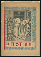 Helen Sewell Illustrated  A First Bible  1934 First Edition + Dust Jacket