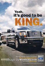 2011 Ford F-150 Truck - KING -  Original Advertisement Print Art Car Ad J676