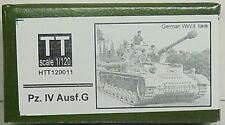 Panzer IV Version G, Hauler, 1/120, TT, Resin , Etched parts NEW