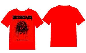 Hetsheads - We Hail The Possessed..., Red Edition (Fin), Shirt
