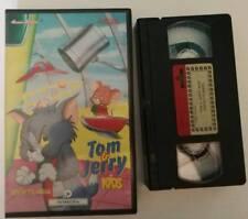 VHS TOM & JERRY - GIOCATTOLANDIA [PANARECORD] RARO