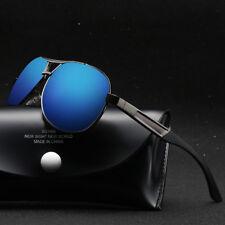 Polarized-Men-Sunglasses-Outdoor-Sports-Pilot-Eyewear-Driving-UV400-100%-Glasses