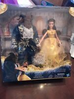 NEW Disney Beauty and the Beast Live Action rand Romance Dolls Belle Ships N 24h