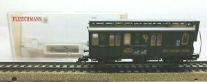 """Fleischmann H0 5826 Mail Wagon """" 500 Years Post """" Buderim 3153 IN Boxed"""