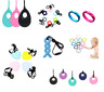 Silicone Teething Chew Necklace Bracelets BPA Free Autism ADHD UK Seller