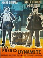 Plakat Kino Western Les Freres Dynamite - 120 X 160 CM
