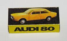 Reprobox Schuco 1:43 - Audi 80 - Werbebox für Audi