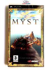 Myst PSP Playstation Nuevo Precintado Videojuego Retro Sealed New PAL/SPA