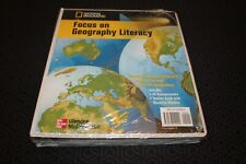 National Geographic Focus on Geography Glencoe McGraw-Hill Teacher Binder New
