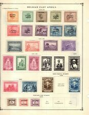 Kenr2: Belgium East Africa Collection from 7 Vol Scott Intern Albums