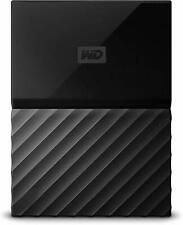"WD My Passport 4TB Portable HDD 2.5"" External Hard Drive Black USB 3.0 Laptop"