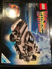 LEGO 21103 CUUSOO 004 The DeLorean time machine Brand New Factory Sealed